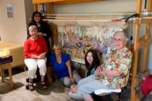 L-R Karen Vernard, Connie Petrillo, Toni Potulski, Elizabeth Marruffo and Connie Ward.